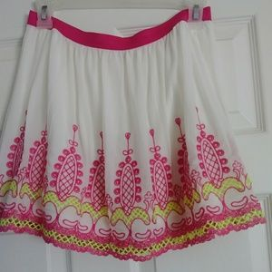 MITTOSHOP - Lace Scalloped Skirt